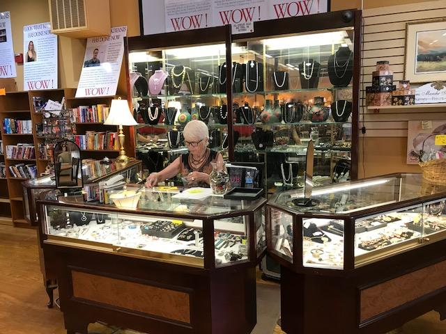 jewelry counter at kiwanis marketplace