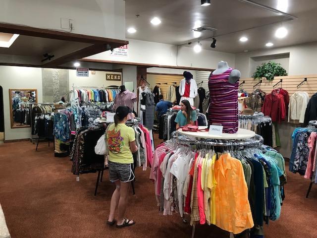 clothing at kiwanis marketplace