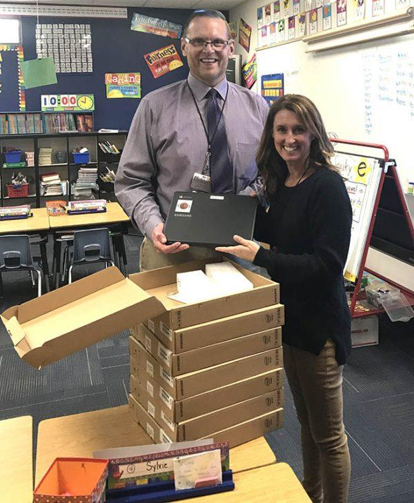chromebook donation to ccusd