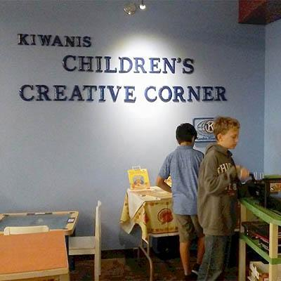kiwanis childrens creative corner