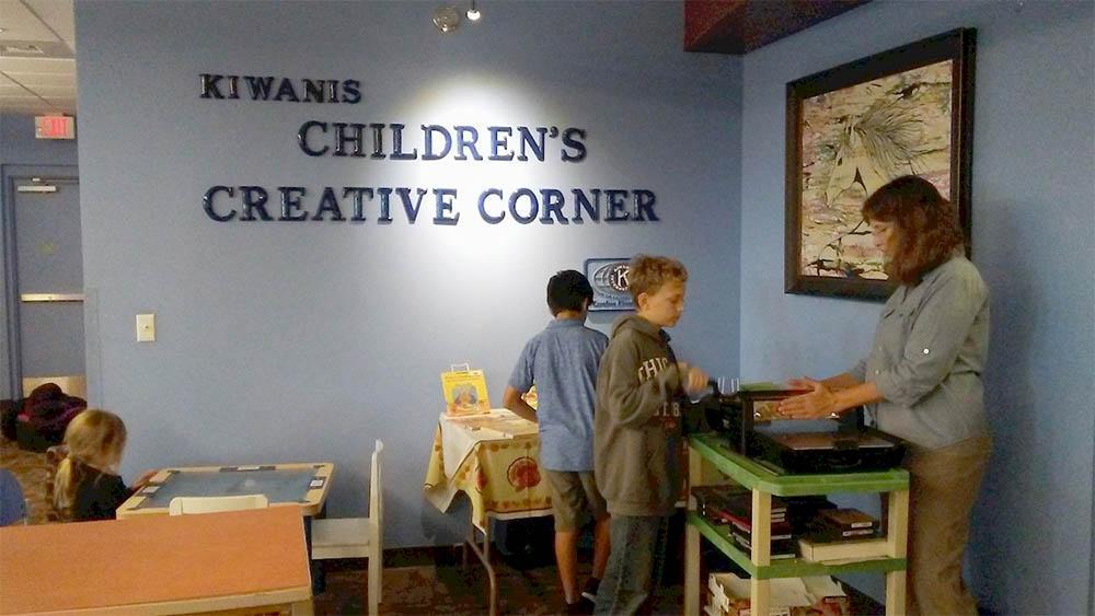 kiwanis childrens creative corner
