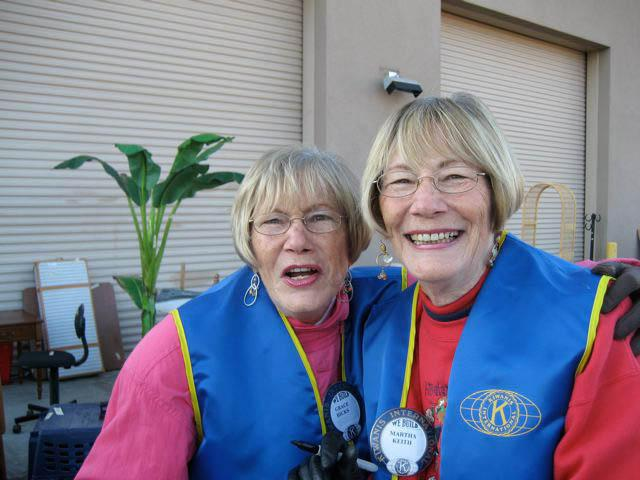 kiwanis volunteers