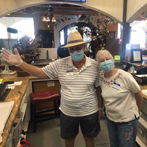 Volunteer at the Kiwanis marketplace