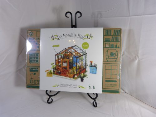 Cathy's Flower House Robotime Wooden Miniature Model Kit