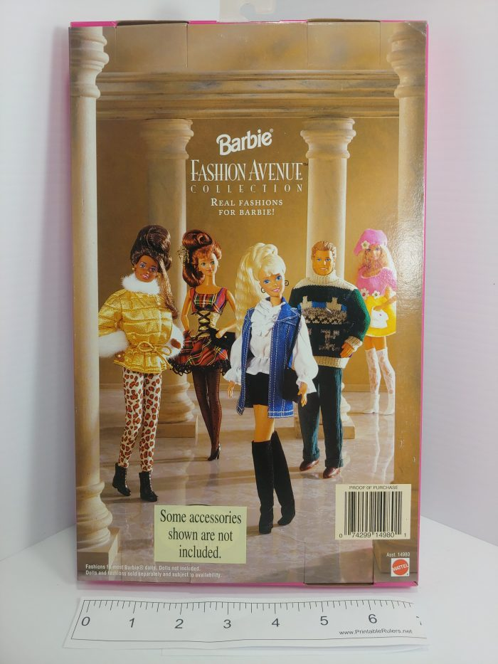 Barbie Fashion Avenue Collection Accessories, MPN 14980