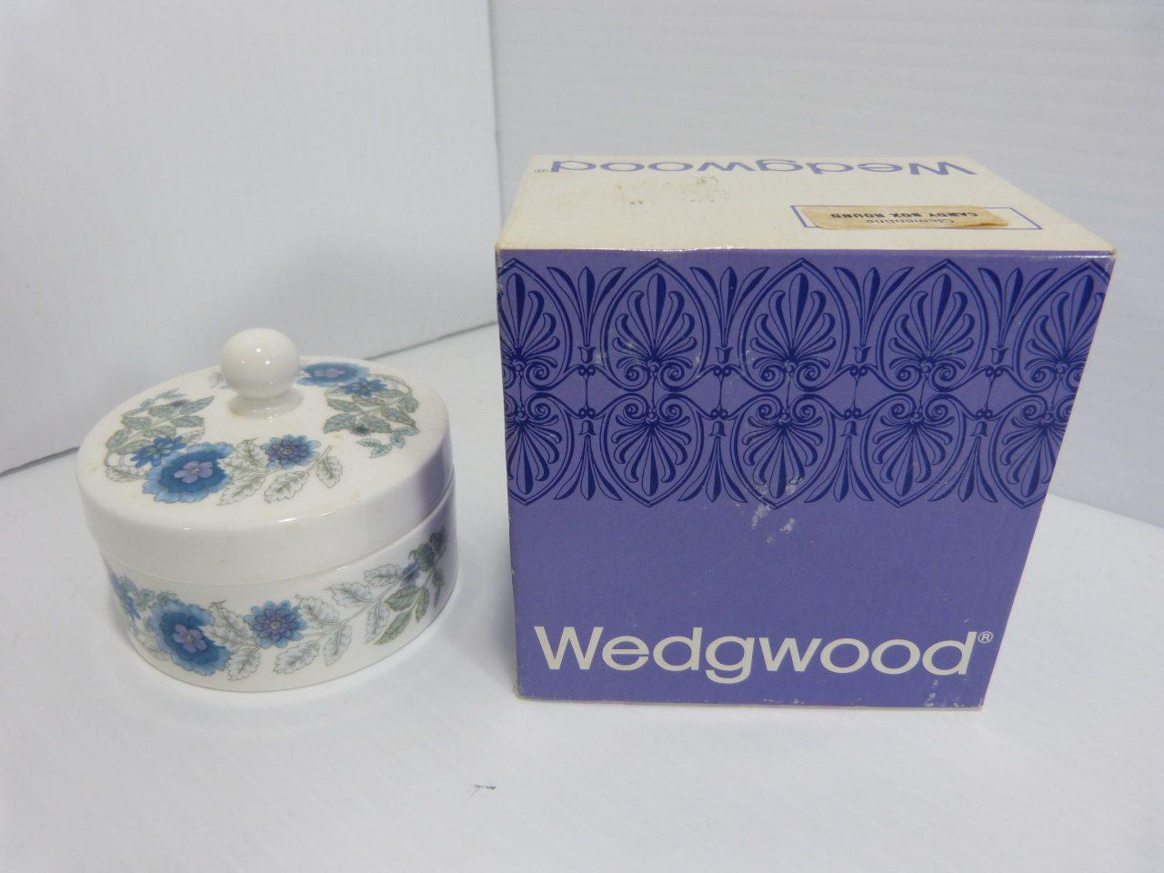 Wedgwood Clementine Round Candy/Trinket Box