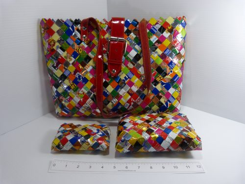Candy Wrapper 3 Piece Bag Set - Nahui Ollin