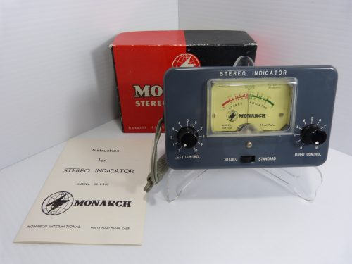 Monarch Stereo Indicator Model SIM-100