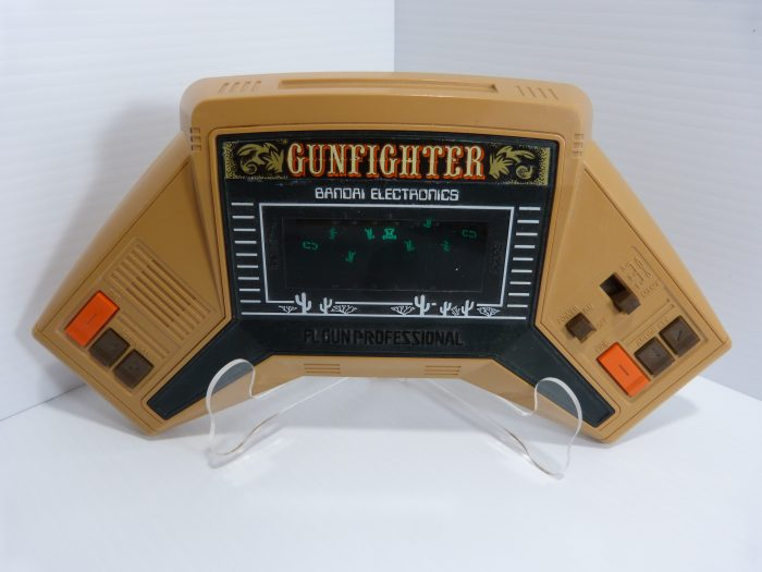 Bandai Gunfighter Handheld Electronic Game