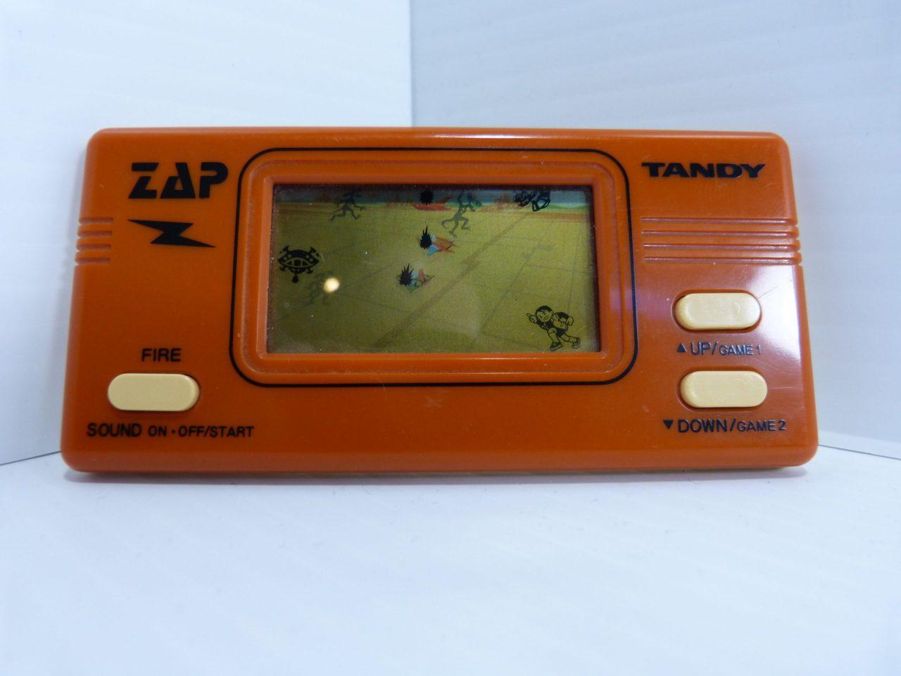 Tandy Zap Handheld Electronic Game