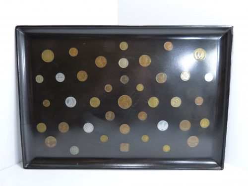Vintage Couroc Coins Tray