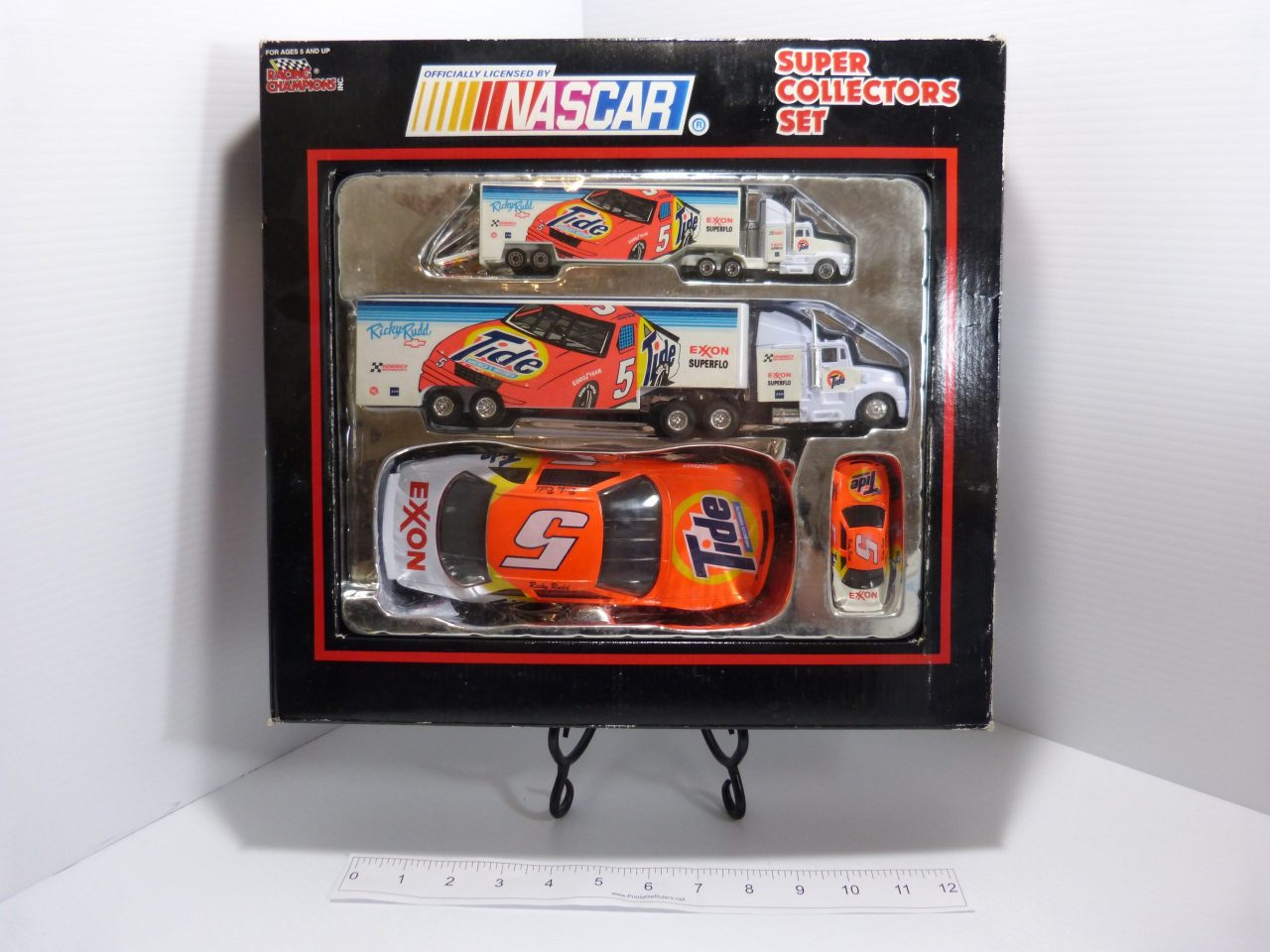 Ricky Rudd Nascar Super Collectors Set Tide