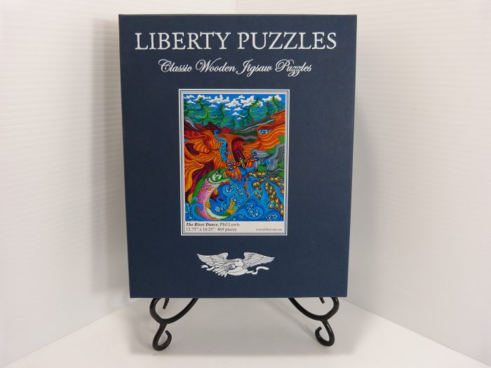 River Dance Liberty Puzzles Wooden Jigsaw