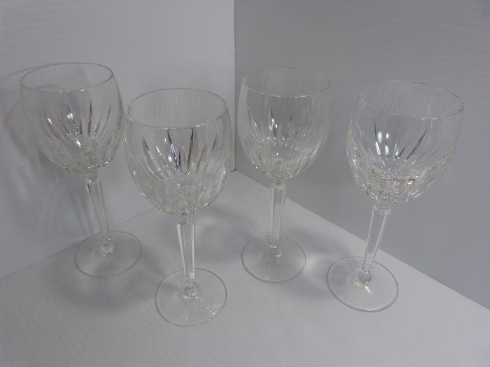 Waterford Crystal Wynnewood White Wine Glasses Set of 4