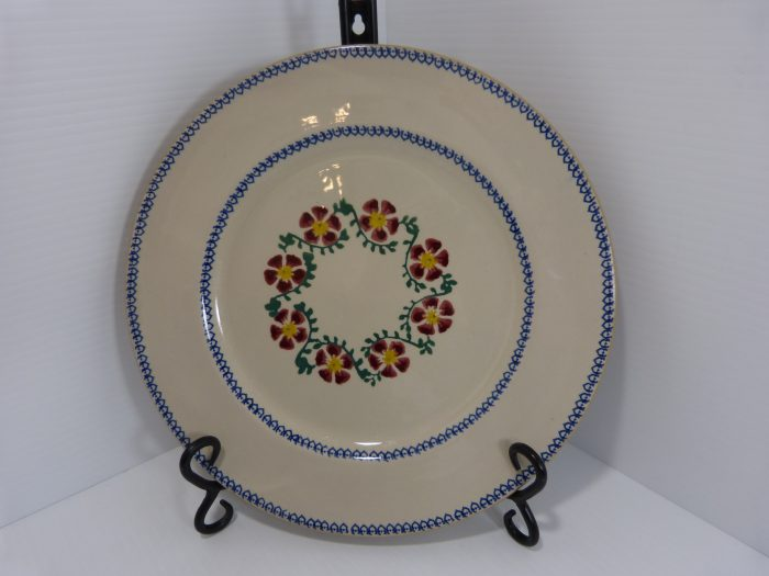 "Nicholas Mosse Old Rose 11"" Serving Plate"