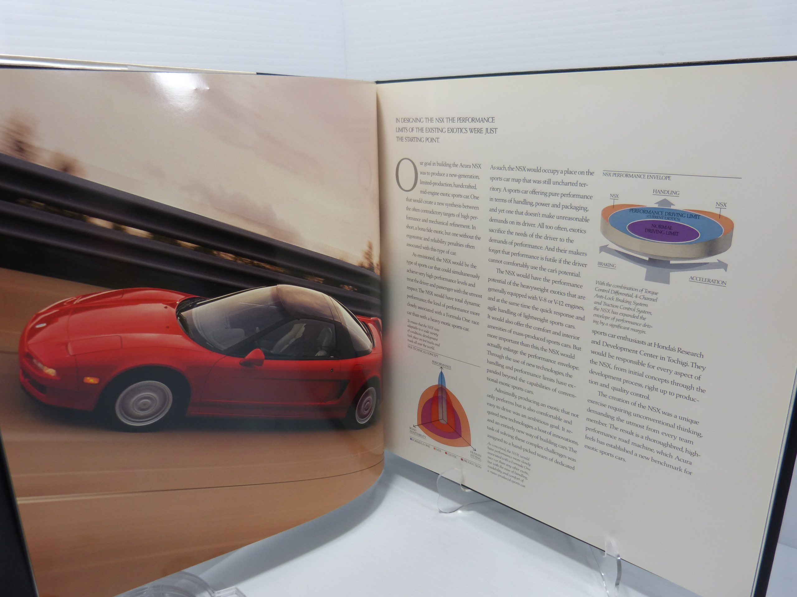 Acura NSX Hardcover Sales Brochure/Book
