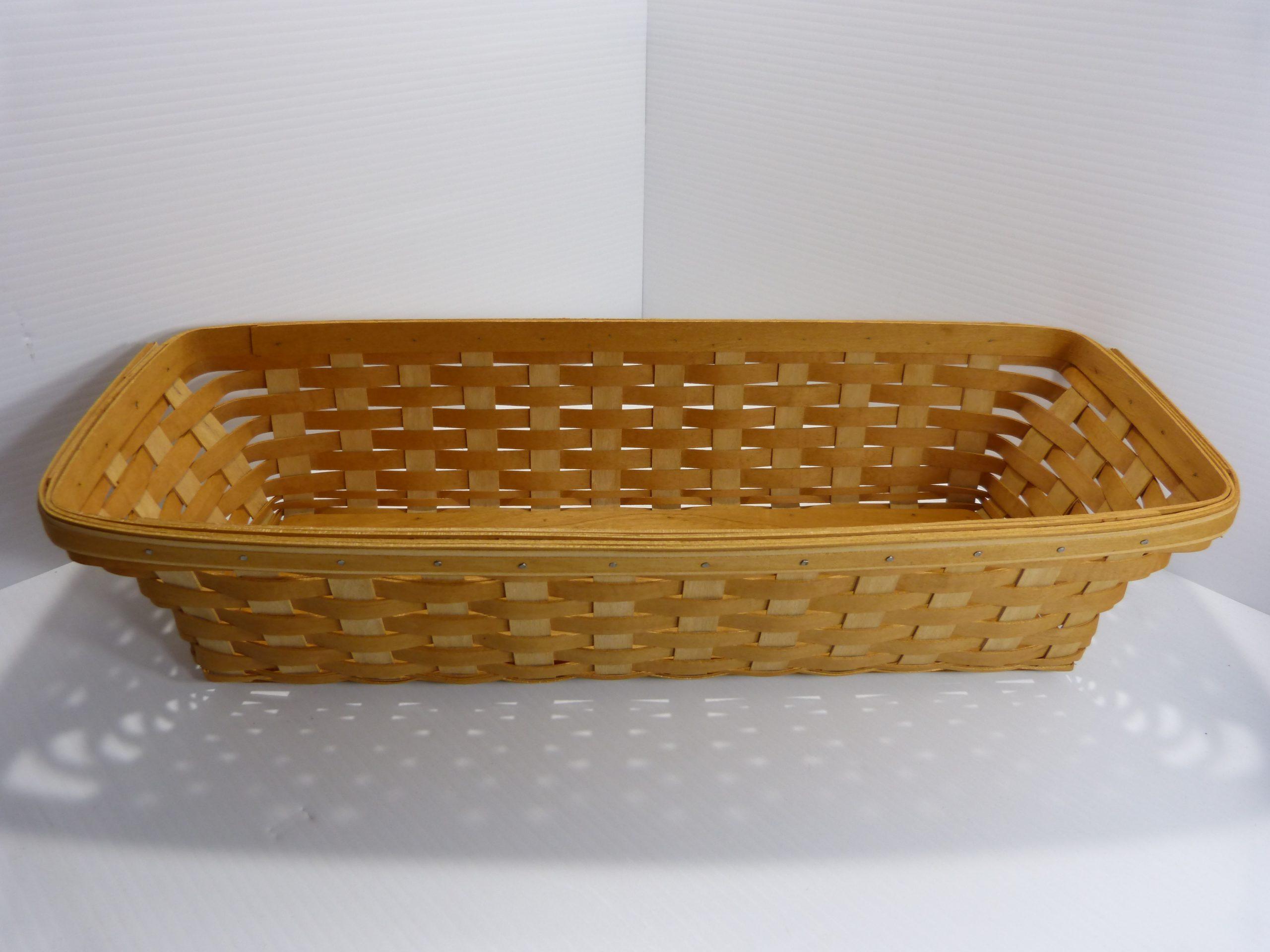 Longaberger Window Box Basket Wrought Iron Stand - Garden Vine Liner - Plastic Protectors