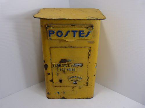 Authentic Vintage French Postes Mailbox - Ancienne boite aux lettres