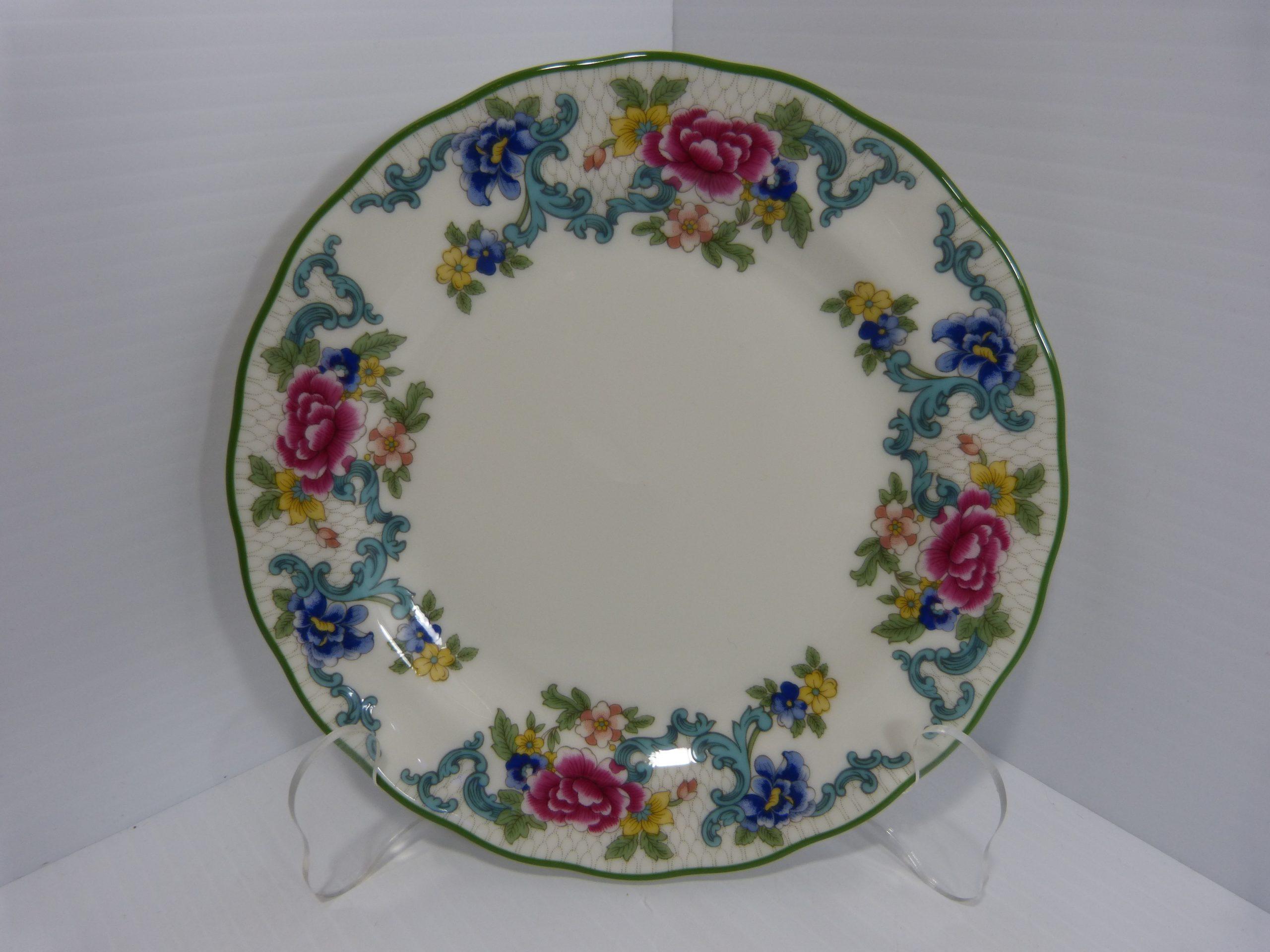 Royal Doulton Floradora Green Side Plate