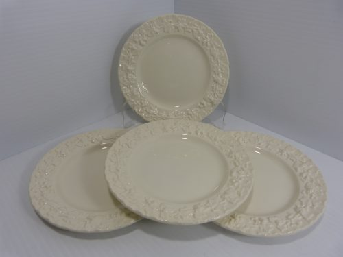 "Wedgwood Queensware Cream on Cream Bread Plate 6"" Set of 4"