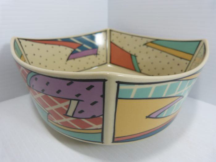"""Rosenthal Flash Dorothy Hafner Square Bowl Dish 8"""""""