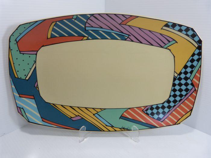 """Rosenthal Flash Dorothy Hafner 17"""" Platter"""