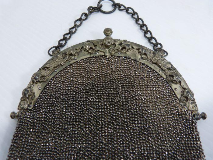 Vintage Victorian Beaded Purse