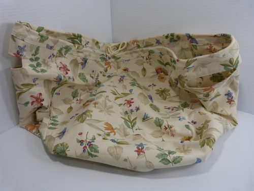 Longaberger Oval Laundry Botanical Fields Basket Liner