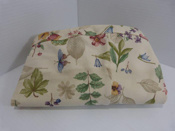 Longaberger Oval Laundry Botanical Fields Basket Liner