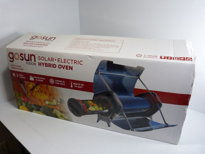 GOSUN Fusion Solar Oven - Hybrid Electric Grill Portable Oven