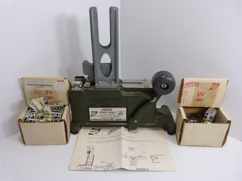 Steelpix Model 35E Stemming Machine