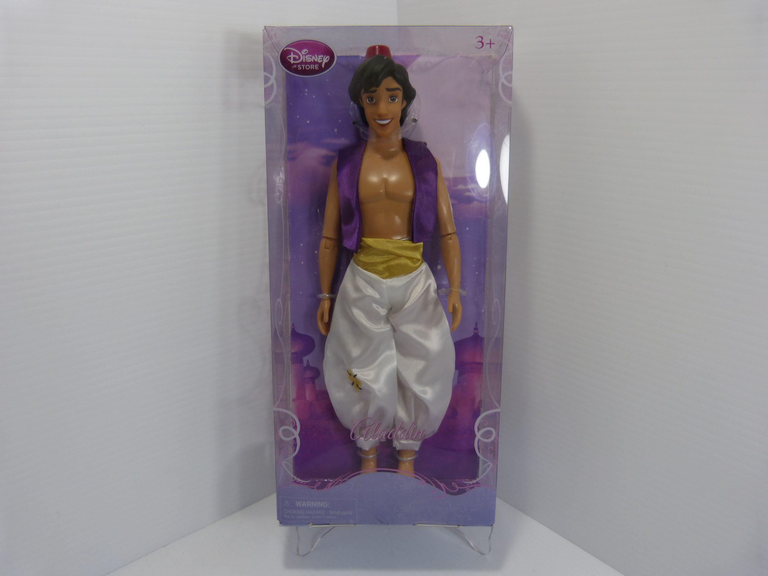 "Disney Store Aladdin 12"" Doll"