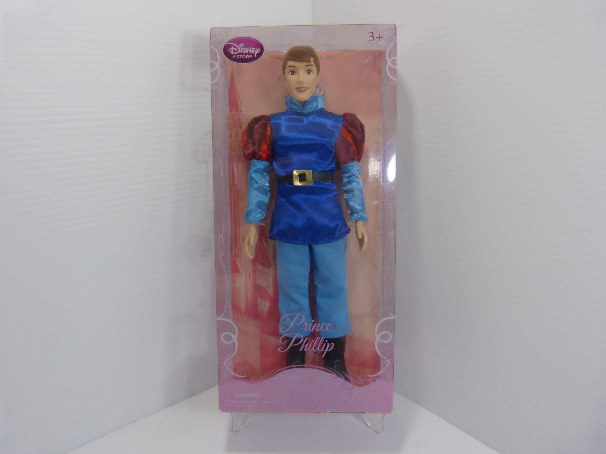 "Disney Store Prince Phillip 12"" Doll"