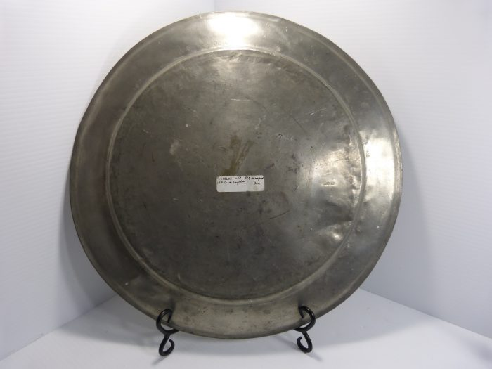 """Antique Pewter Charger 16 1/2"""""""