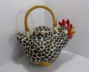 Vintage Rooster Tea Pot Animals & Co #192 1984
