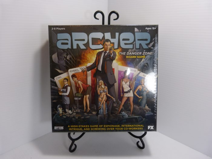 Archer: The Danger Zone Board Game 2014 New Sealed