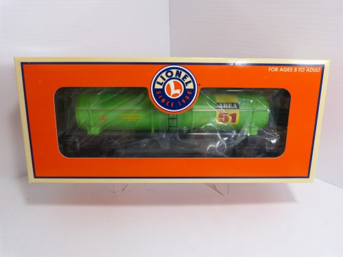 Lionel Area 51 Single Dome Tank Car - 6-19643 - NIB