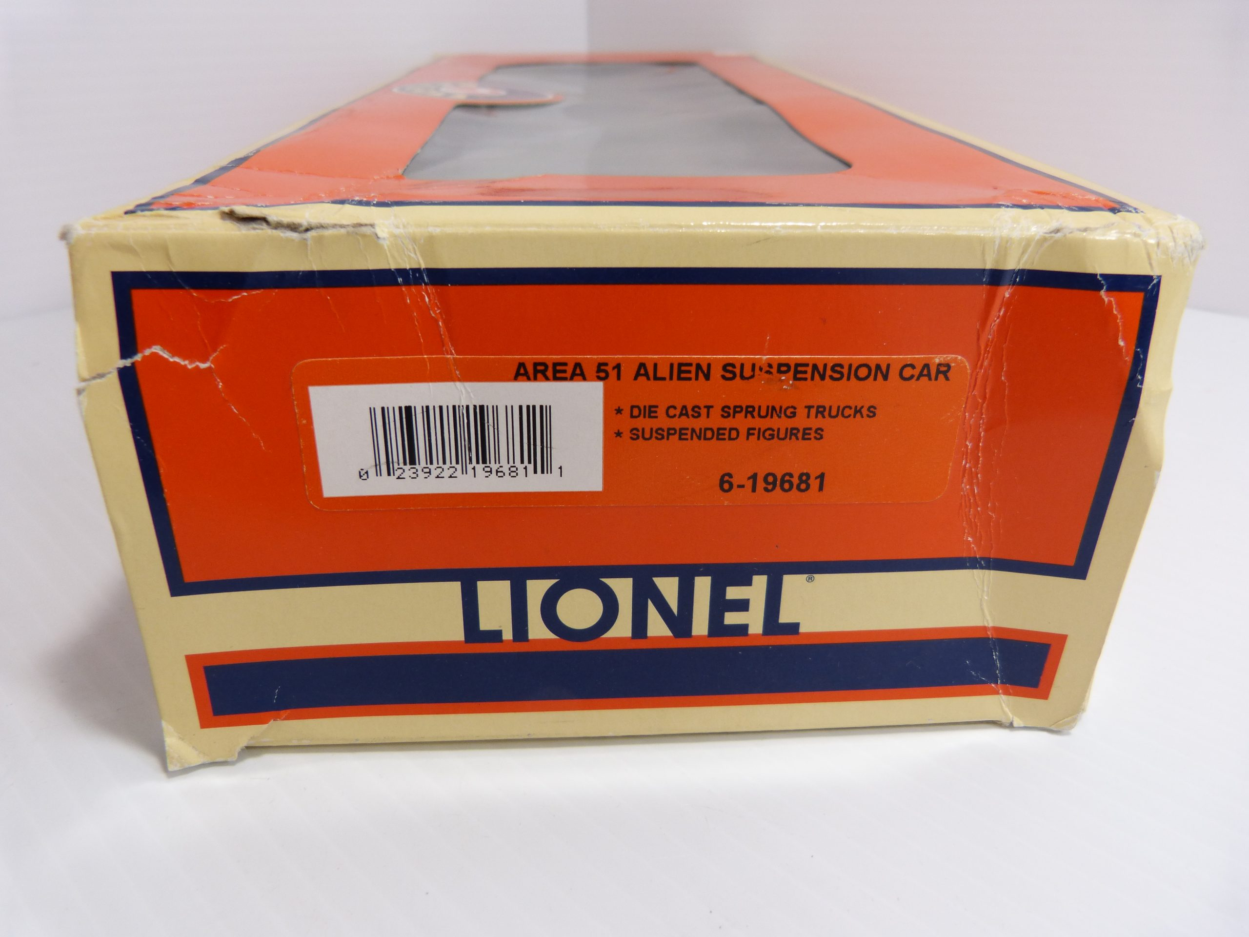 Lionel Area 51 Alien Suspension Car - 6-19681 - NIB