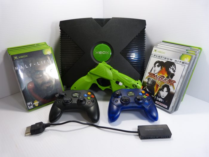 Original Xbox Microsoft Console Video Game System HDMI