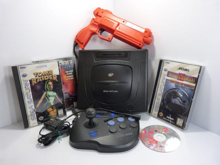 Sega Saturn Game System