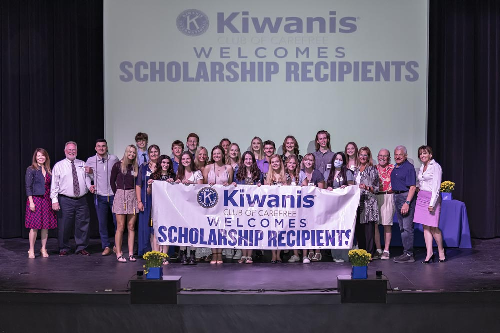 2021 Kiwanis Award Recipients and Committe