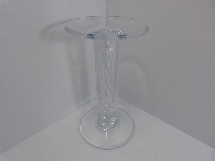 Simon Pearce Stratton Pillar Candle Holder 8 3/4""