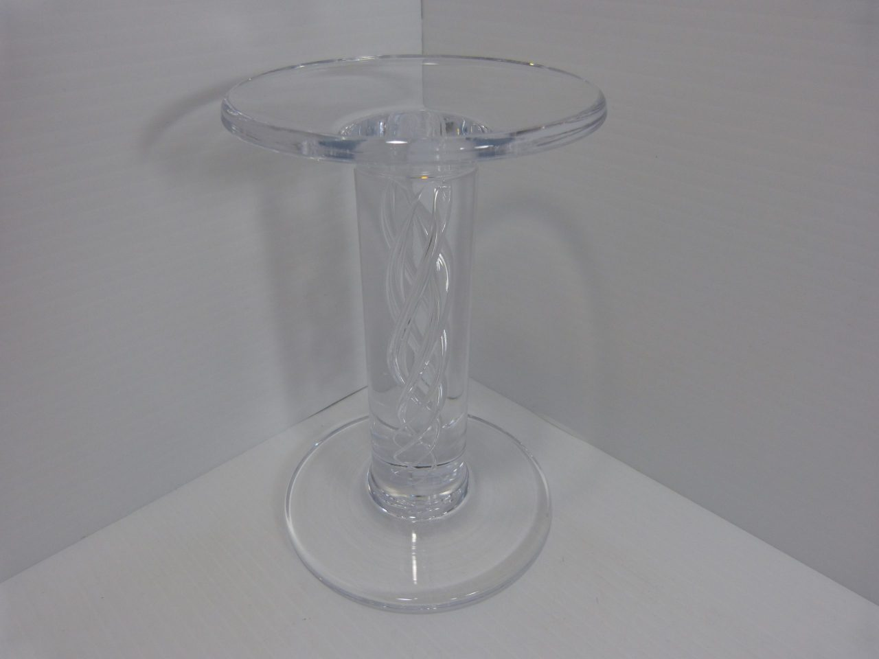Simon Pearce Stratton Pillar Candle Holder 7""