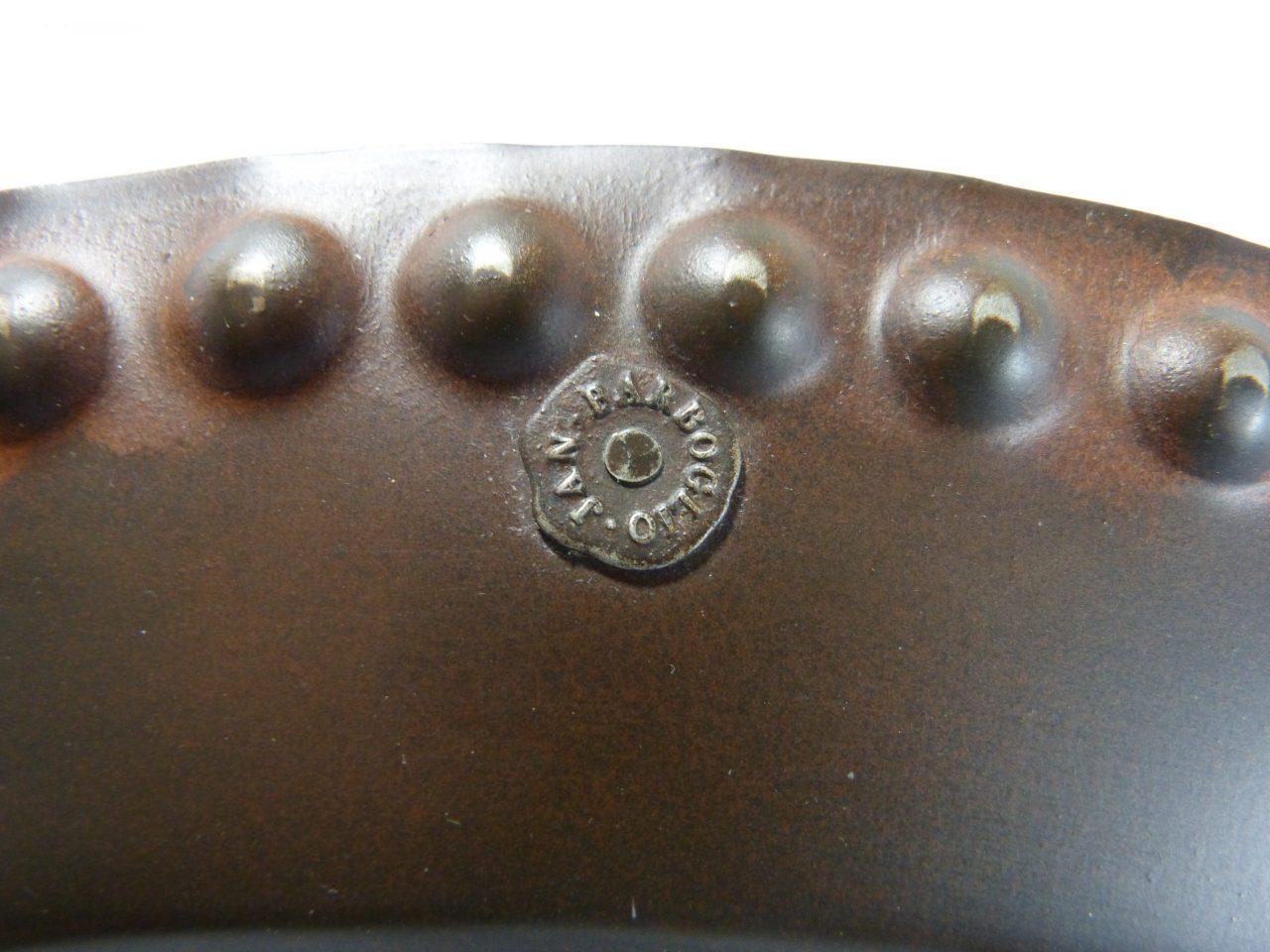 "Jan Barboglio Big Bead Charger Platter 17 1/2"""