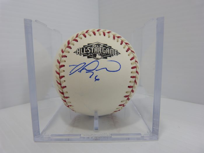 Singed Baseball 2011 MLB All-Star Game Kirk Gibson Justin Upton Miguel Montero