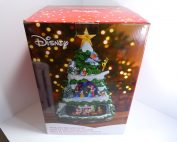 Disney Animated Christmas Xmas Tree 8 Holiday Songs Music Lights Mickey Train