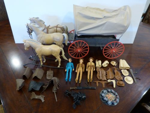 Johnny West Vintage Toy Lot Marx