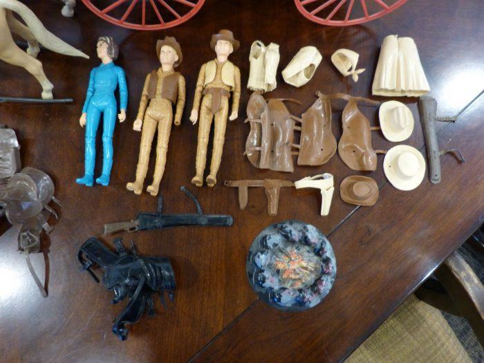 Johnny West Vintage Toy Lot Marx