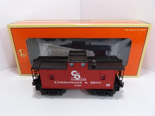 Lionel 6-26553 C&O Window Caboose