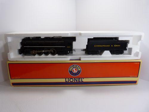 Lionel 6-28096 C&O 4-6-4 Hudson Jr Steam Locomotive